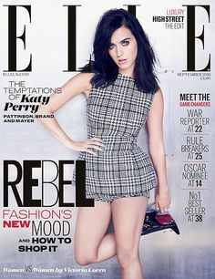 Katy Perry - Katy Perry stars on her first ELLE UK cover.