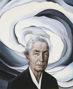 Inner Optics — Self-Portrait -Georgia O'Keeffe