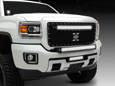 T-Rex has integrated high power Led Light Bars into their iconic X-Metal Grilles to create the perfect blend of performance & style - delivering the biggest bang-for-your-buck upgrade to come along in decades. Truck Mods, Gm Trucks, Pickup Trucks, Tonka Trucks, 2017 Gmc Sierra 2500, Denali Hd, Gmc 2500, Future Trucks, Led Light Bars