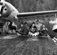 William Holden - Malibu Club In Canada - July 7, 1949