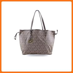 NEW AUTHENTIC MICHAEL KORS JET SET LARGE REVERSIBLE TOTE (Brown/Sand) - Totes (*Amazon Partner-Link)