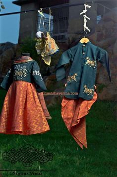 Colors & Crafts Boutique™ offers unique apparel and jewelry to women who value versatility, style and comfort. For inquiries: Call/Text/Whatsapp Kids Indian Wear, Kids Ethnic Wear, Baby Girl Fashion, Kids Fashion, Little Girl Dresses, Girls Dresses, Kids Lehenga, Kids Girls, Baby Boys