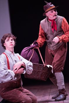 Patrick Walshe McBride and Gareth Williams in The Winter's Tale. Photo by Mark Douet.