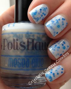 Crystal's Crazy Combos: PolisHaus - MeSea Blue