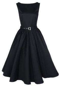 Lindy Bop Robe de Soiree Vintage 1950s Audrey Hepburn. Style Rockabilly. Parfaite Pour Soiree Dansante: Amazon.fr: Vêtements et accessoires
