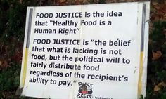 definition of food justice