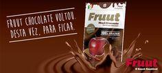Os pedaços de maçã da Fruut cobrem-se de chocolate para adoçar o seu Natal