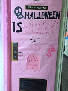 Breast Cancer Awareness Door Decorating Contest