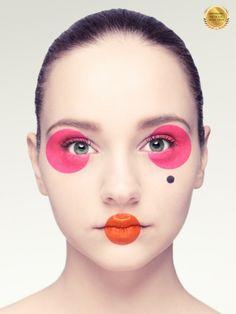 Pop art makeup photography make up ideas for 2019 Makeup Inspo, Makeup Inspiration, Beauty Makeup, Lip Makeup, Makeup Ideas, Makeup List, Hair Beauty, Fashion Editorial Makeup, Beauty Editorial