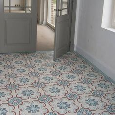 Home Decorating Websites Stores Black Interior Doors, Kitchen Flooring, Interior Tiles, House Flooring, Doors Interior, House Interior, Retro Interior, Flooring, Printed Tile