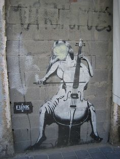 Tel Aviv graffiti #music #cello