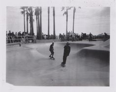 """Venice Beach, California I really love this one. When I pulled out my Polaroid that day, the guy standing next to me giggled and said, """"That's like really old. Is it a Polaroid?"""" I get that a lot. Skate Street, Man Standing, Anti Social, Venice Beach, West Coast, United States, California, In This Moment"""