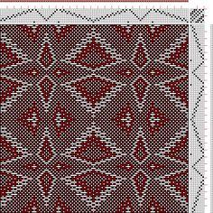 Hand Weaving Draft: xc00145, , 8S, 8T - Handweaving.net Hand Weaving and Draft Archive