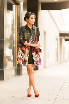 22 Gorgeous Floral Print Outfit Trends for this Season | Outfit Trends | Outfit Trends