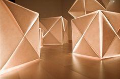 Origami Lighting by lichtkanzlei | Home decor, Furniture Design, Interior design magazine | Tevami.com