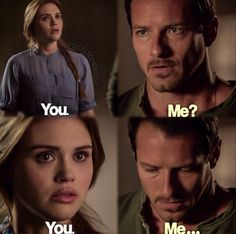 I liked this scene haha - Lydia Martin and Peter Hale
