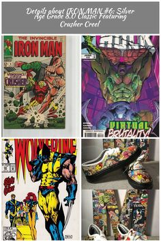 marvel comics Strip Details about IRON MAN Silver Age Grade Classic Featuring Crusher Creel