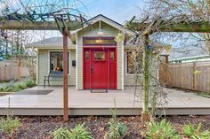 A front door is a home's first chance to make a good impression. And if you've ever asked your real estate agent to skip past a showing appointment because of a house's unwelcoming exterior, you've noticed firsthand just how important curb appeal really is. These 10 homes for sale on Trulia all boast pretty portals — the perfect inspiration for your personal home search. ...