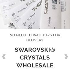 "428851564 Swarovski Crystals Wholesaler on Instagram: ""There is no need to wait many  days for your order to be processed, unlike most suppliers we stock  Swarovski® ..."