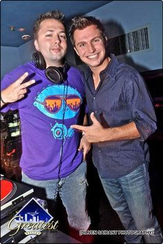 Kiss 108's Rich DiMare took over our DJ booth with DJ Joshua Carl on Friday!