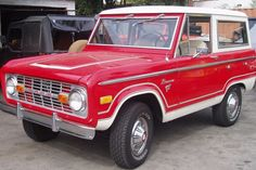 1976 Ford Bronco, I would love to have this truck.