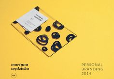 Transparent Business Cards by Martyna Wedzicka