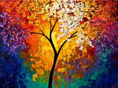 Tree wall paintings http://webneel.com/tree-paintings   Design Inspiration http://webneel.com   Follow us www.pinterest.com/webneel