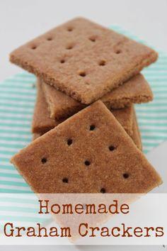 Homemade Graham Crackers Recipe