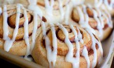 Overnight Cinnamon Rolls barely adapted from Peter Reinhardt's Artisan Breads Every Day makes 24 cinnamon rolls Dough I Love Food, Good Food, Yummy Food, Delicious Desserts, Overnight Cinnamon Rolls, Bucket List For Teens, Breakfast Recipes, Dessert Recipes, Breakfast Items