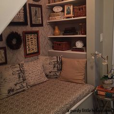 Under The Stairs Ideas Living Room Book Nooks 68 Trendy Ideas Stairs In Kitchen, Deep Shelves, Book Nooks, Reading Nooks, Reading Areas, Reading Corners, Kids Reading, Stair Storage, Book Storage
