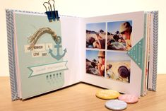 mercrediinspiration_Kesi'Art_Nelly 5 Mini Albums Scrapbook, Scrapbook Cards, Diy Souvenirs, Travel Album, Cricut Cards, Mail Art, Mini Books, Blog, Paper Crafts