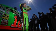 NASCAR's Danica Patrick becomes first woman to win Daytona 500 pole