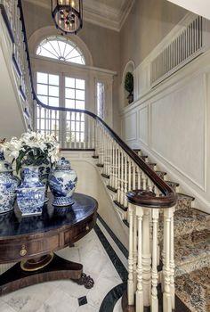 staircase railing tree