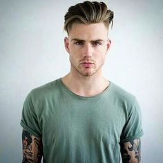 Slicked Back Undercut Cuts Style Hair Styles Mens Hairstyles With Bear. - Slicked Back Undercut Cuts Style Hair Styles Mens Hairstyles With Beard Long Hair – hai - Mens Hairstyles With Beard, Slick Hairstyles, Hair And Beard Styles, Hairstyles Haircuts, Haircuts For Men, Hairstyles Videos, Beautiful Hairstyles, Medium Hair Styles, Short Hair Styles