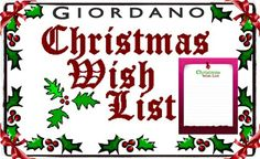 """Let's get Merry this Christmas with """"My Giordano Christmas Wish List"""" Photo Contest! Win AED 200 gift vouchers and a Giordano item. It's fun and easy!    Please see the contest rules and details here: https://www.facebook.com/giordanomiddleeast/app_192229990808929"""