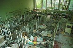 Abandoned Orphanage Nursery