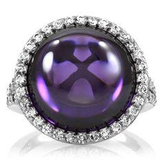 Nabila's Amethyst Cabachon Cocktail Ring - Final Sale Emitations http://www.amazon.co.uk/dp/B005VF6O72/ref=cm_sw_r_pi_dp_JPZGub19PFRW9