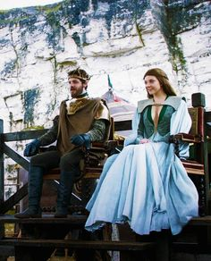 Margaery Tyrell and Renly Baratheon