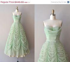 SALE+20+OFF+Austrian+Waltz+dress++1950s+dress++by+DearGolden,+$356.00