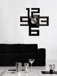Vinilo reloj Minimalista - Stick`N`Watch - MooiMaak. Ventas privadas de decoración e interiorismo