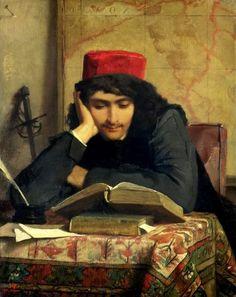 Ferdinand Heilbuth. El lector