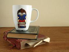 I like big books and I cannot lie back to school mug by vitaminaeu