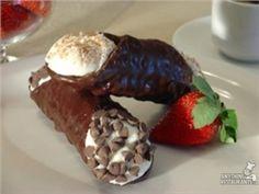 chocolate covered cannoli!