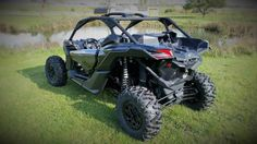 New 2017 Can-Am Maverick™ X3 X ds Turbo R ATVs For Sale in Wisconsin. The X3 X ds Turbo R is all about control, with fully-adjustable FOX 2.5 Podium RC2 HPG Piggyback shocks, with front and rear dual-speed compression and rebound settings for unparalleled flexibility on any terrain, with any driving style.