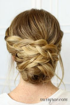 bridal-braided-updo-easy-hairstyle