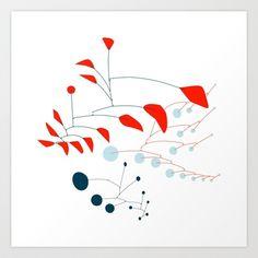 Pattern A Art Print by Anna Gomes - $13.99