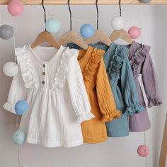 Baby Girl Dress Patterns, Baby Clothes Patterns, Dresses Kids Girl, Cute Baby Clothes, Baby Girl Skirts, Baby Dresses, Dress Girl, Summer Dresses, Casual Dress Outfits