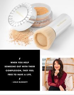 We caught up with  Leslie Blodgett to discuss bareMinerals's celebratory 20th Anniversary Collector's Edition Original Foundation Kit, her history of connecting with women, and what's inspiring her now — on The #Sephora Glossy>