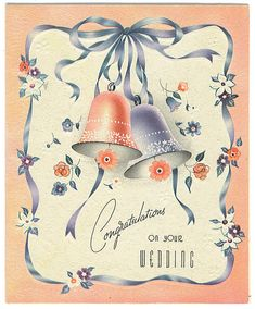 Congratulations on Your Wedding card by Tommer G, via Flickr