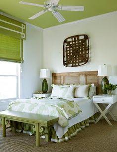 baby green: Looking Up: Exploring Painted Ceilings